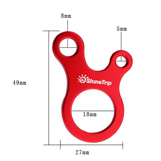 Fishsunday Outdoor Rope Three-hole Quick Tool Adjustment Buckle Tent Snail Wind Stopper July 10