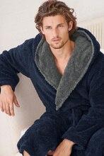 ВЕЛИКОБРИТАНИЯ Марка EUR размер для человека зимний фланели с капюшоном тепло длинные халаты главная пижамы банные халаты с hat SL