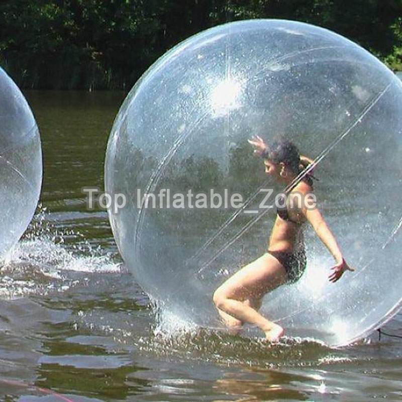 High Quality Inflatable Dance Ball 2m Dia Inflatable Water Walking Ball For Sale Pvc Hot Water Roller Ball For Pool And River