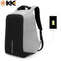 KAKA Brand 15 Men Laptop Backpack Anti Thelf Computer Backpacks Male Oxford Waterproof Multi Function School