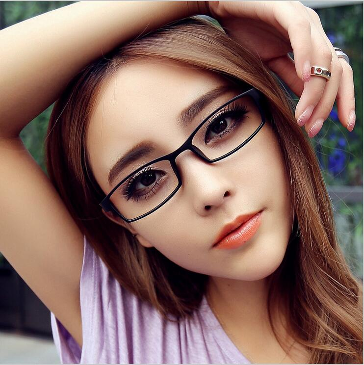0345366d8dc TR90 Finished Optical Eye Glasses Frames With Myopia Lens For Women Men  Student Small Frame Eyeglasses Degree oculo( 1.0to 4.0)-in Eyewear Frames  from ...