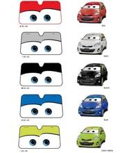 5 цветов милый мультфильм глаза лобовое стекло автомобиля зонт авто окна ветрового козырек от солнца автомобиля-Обложки автомобиля солнечной защиты