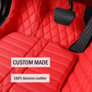 Image 4 - Car Believe Genuine Leather car floor mat For lexus gs nx gx470 ct200h rx lx570 is 250 rx330 nx300h accessories carpet rugs
