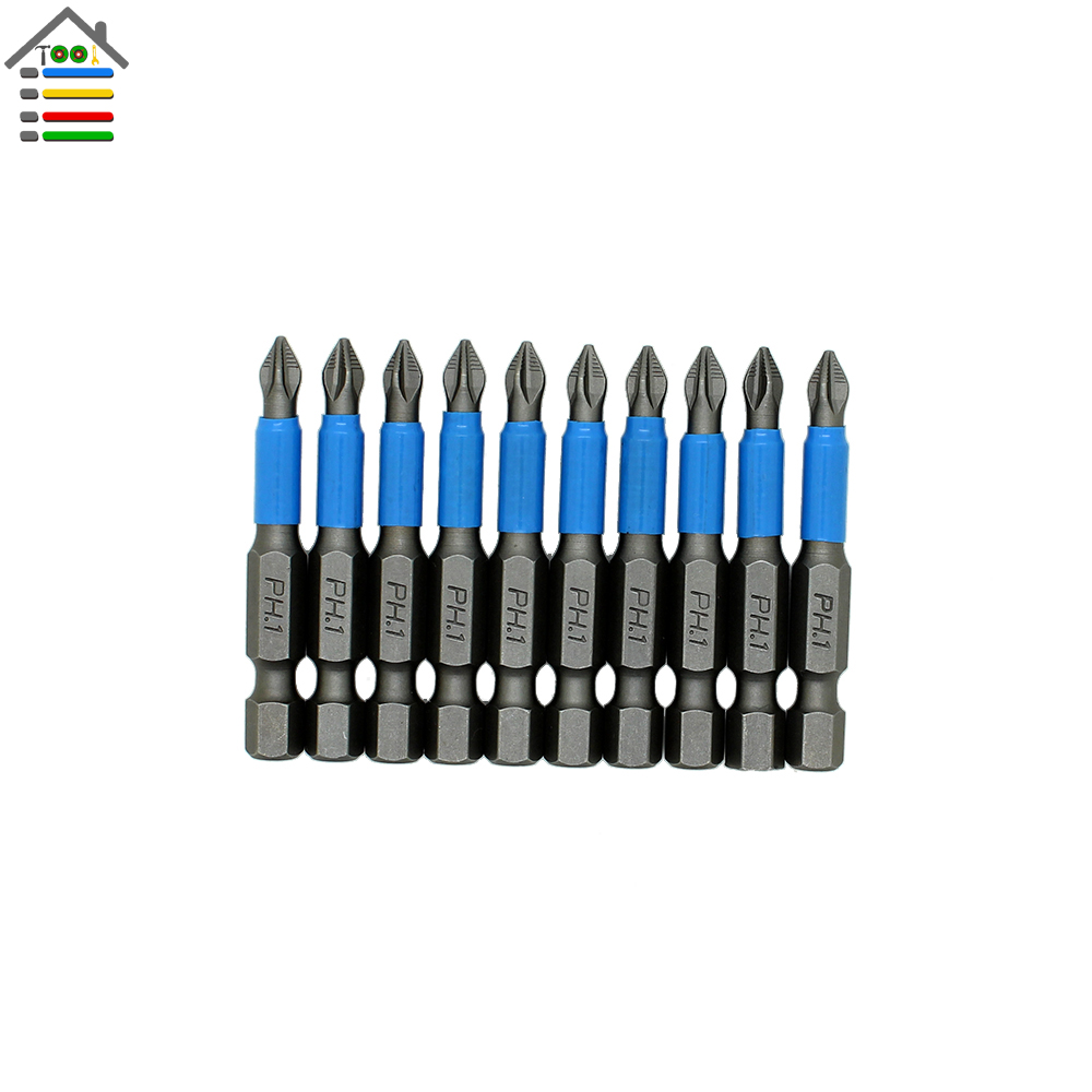 New 10pc Hex Magnetic Anti Slip Phillips PH1 Electric Screwdriver Bit Set Length 50mm Power Tool free customs taxes powerful 48v 1000w electric bike battery pack li ion 48v 34ah batteries for electric scooter for lg cell