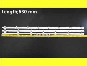 "Original 30 PCS( 20*A1*7LED,10*A2*8LED) LED backlight strip for LG 32\"" 6916L-1105A 6916L-1106A 6916L-1204A 6916L-1205A 630mm"