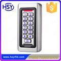 IP68 A Prueba de agua caja de Metal de Silicio Teclado RFID 125 Khz EM Tarjeta de controlador de Acceso Independiente