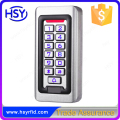 IP68 Waterproof Metal case Silicon Keypad RFID 125Khz EM Card Standalone Access controller
