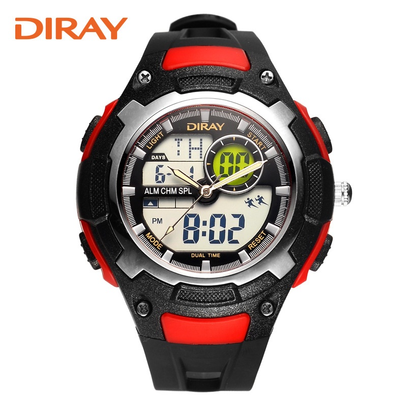 Diray Luxury Brand Mens Sports Watches Dive 50m Digital LED Military Watch Men Fashion Casual Electronics