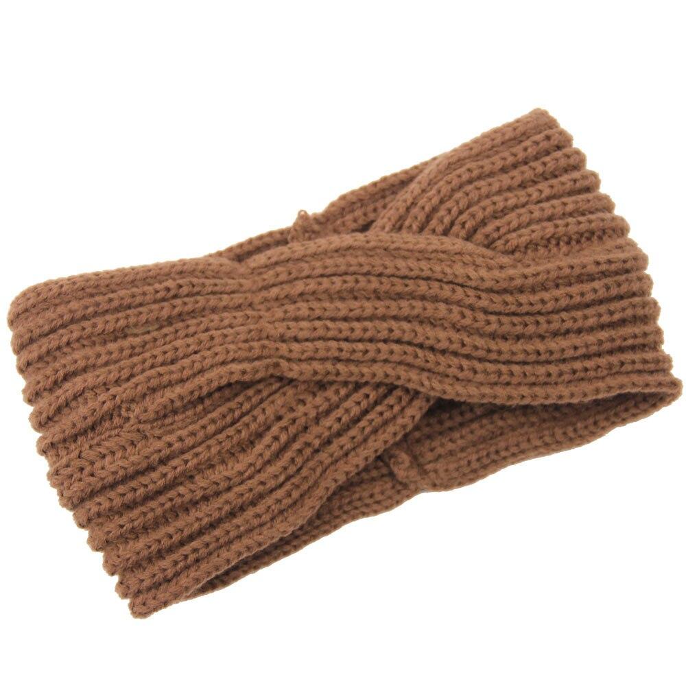 Frauen Knit Stirnband Knit Stirnband Ohr wärmer Knit Twist Stirnband ...