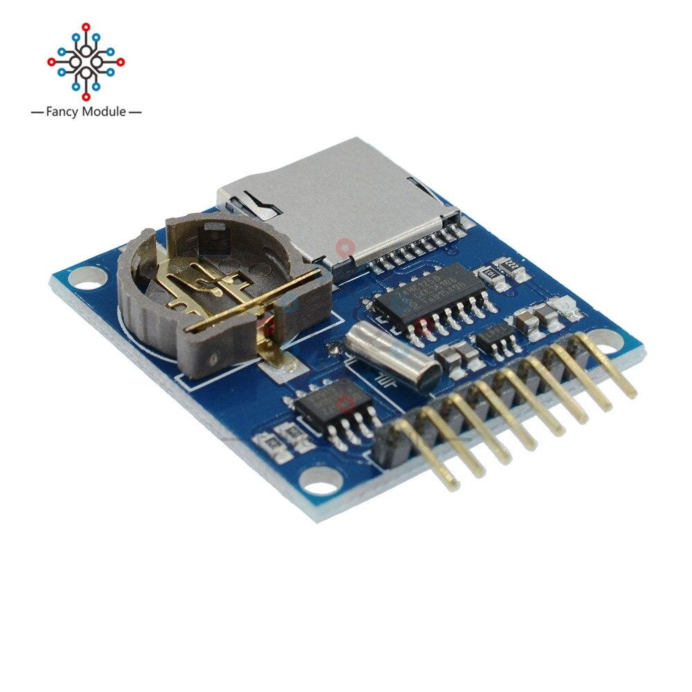 Mini Data Logger Module Logging Shield Module For Arduino For Raspberry Pi  Recorder Module Shield SD Card 3 3V Regululator