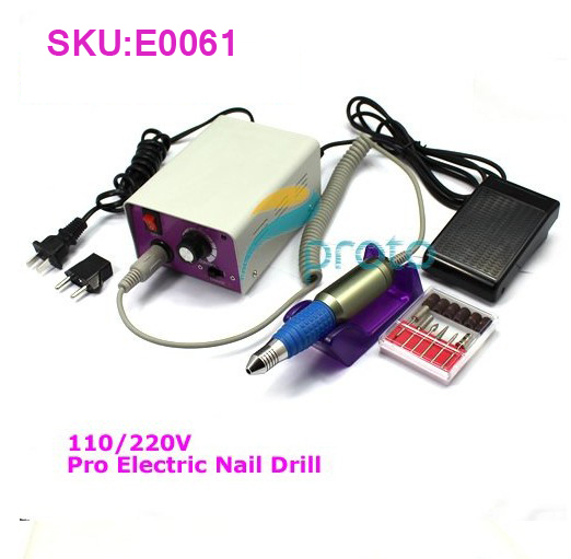 Wholesales Pro Electric Nail Drill for Nail Art Manicure Pedicure Set Nail File SKU:E0061XX