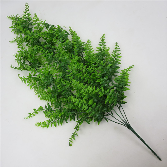 Artificial Plants For Decoration Plastic Flowers Green Plant Vine Wall Hanging Flowers Fake Leaves Plant Ivy Wall Garden Decor 5