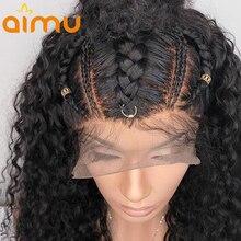 Мокрый и волнистые Синтетические волосы на кружеве натуральные волосы парики для Для женщин волна воды Девы волос, парики, кружева кудрявый парик бразильский 360 Синтетические волосы на кружеве парики