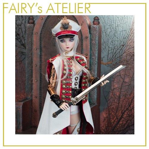 OUENEIFS Scarlett hippocampe Fairyland FairyLine60 bjd sd poupée 1/3 modèle filles garçons jouets boutique silicone résine meubles-in Poupées from Jeux et loisirs    2
