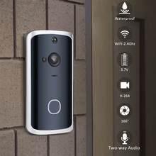 Smart WiFi Video Doorbell Camera 2Way Wireless Doorbell Inte