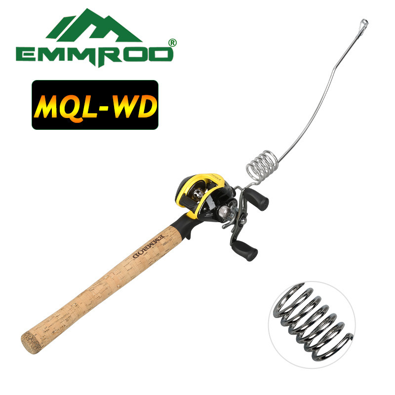 Lengthened Emmrod portable lure fishing rod set fishing Ocean boat Raft fishing rod Portable Casting Fish Telescopic Rod MQL-WD fulang emmrod elasticity fishing rod boat raft rod lure cork wood stock patented product with fishing bag 53 5cm mq 4c page 6
