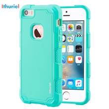 купить Ithuriel Cover For iPhone SE 5 5s Case bumper TPU Anti-Scratch back panel Shockproof slim thin Case For Apple iPhone 5 5S SE new по цене 325 рублей