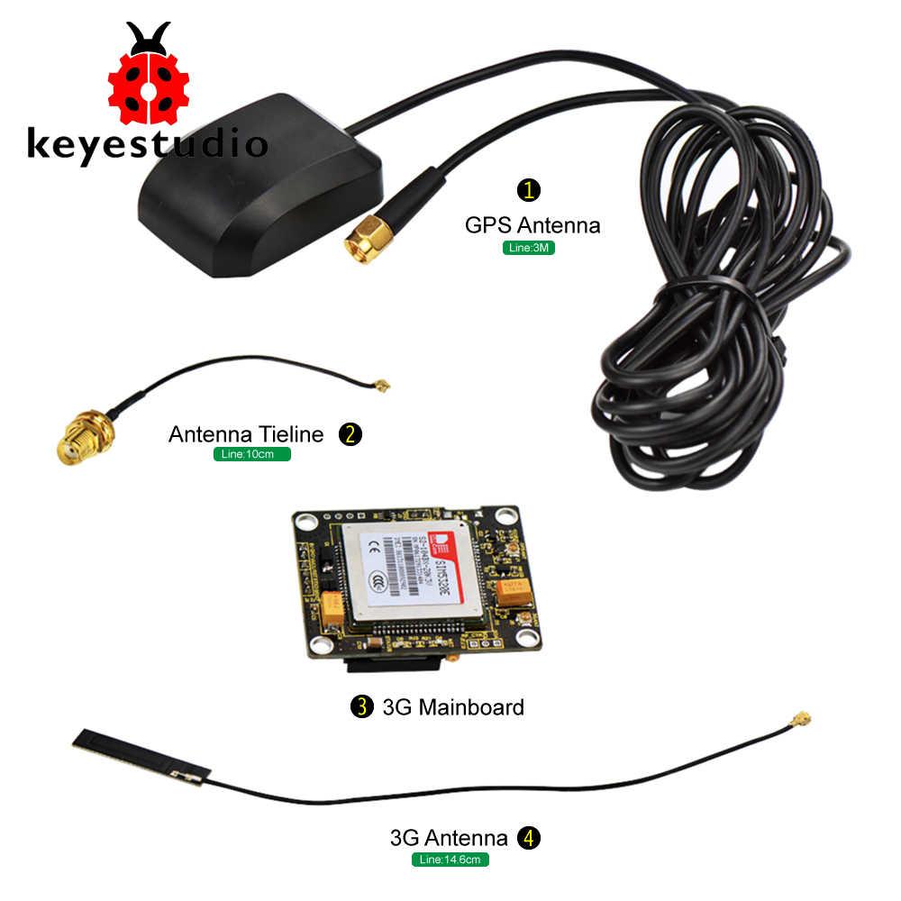 Keyestudio Moduli Modulo SIM5320E 3G GSM GPRS GPS per Arduino 51 AVR MCU