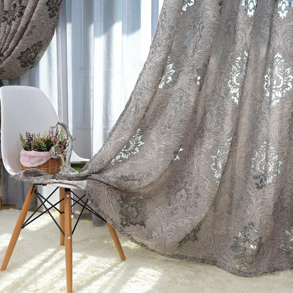 europ ischen stil design jacquard vorhang stoffe f r fenster balkon in europ ischen stil design. Black Bedroom Furniture Sets. Home Design Ideas