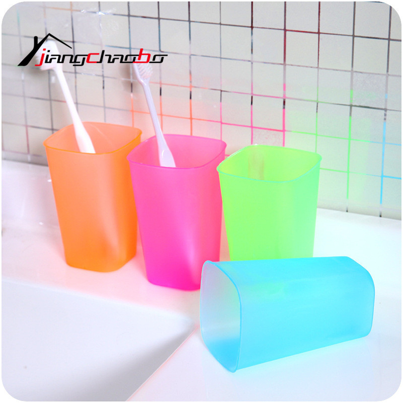 5Pcs Portable Utility Toothbrush Holder Tooth Mug Toothpaste Cup Bath Travel Accessories Set Cup