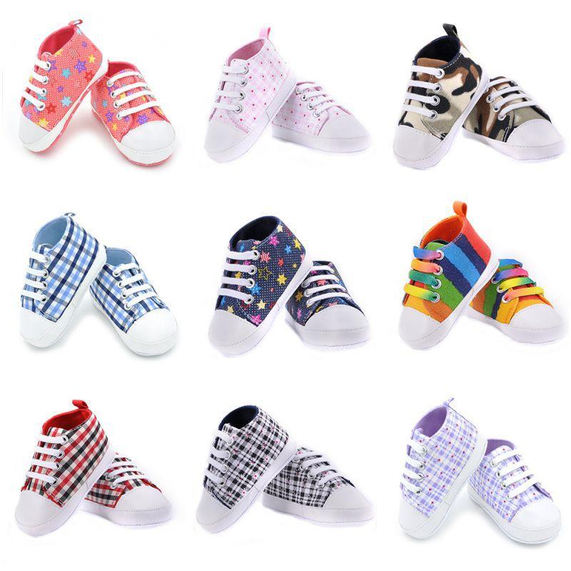1pair Toddler Newborn Non-Slip Infant Girls Boys 3 Colors Shoes Baby