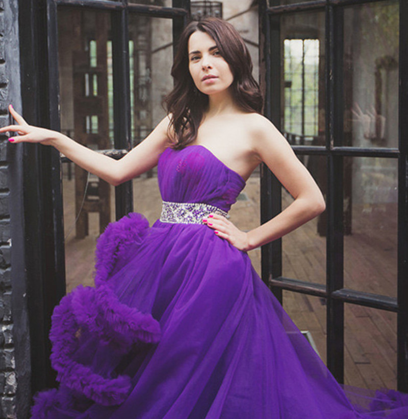 Soayle vestido de noiva vestido de novia 2017 de la princesa de ...