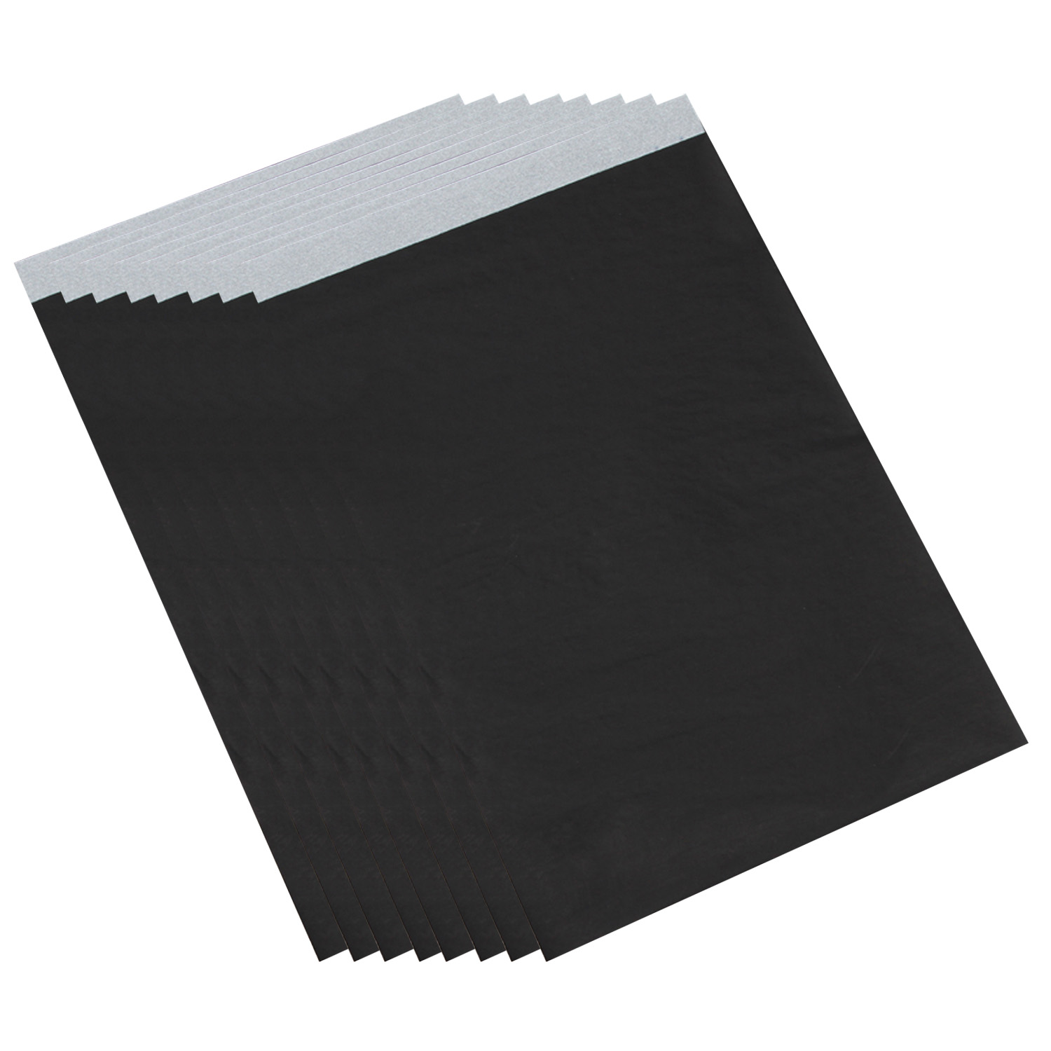100 Sheets A4 Size Single-side Reusable Carbon Transfer Tracing Paper for Home Office Black