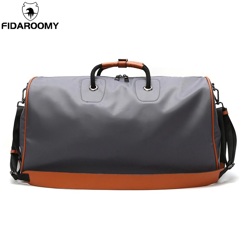 Large Travel Bag Nylon Carry On Luggage Men Women Sports Gym Fitness Bag Overnight Weenkender Hand Luggage Roomy For Short Trip