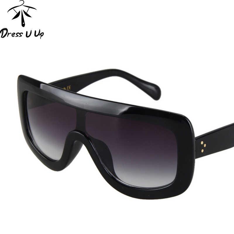085192676f Detalle Comentarios Preguntas sobre DRESSUUP 2017 nuevas gafas De Sol  cuadradas De marca De diseñador grandes gafas De Sol gradientes Oculos De  Sol femenino ...
