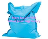 Customize BIG SIZE Bean Bag Polyester Waterproof Outdoor Bean Bag Aqua Blue Garden Sofa Beanbag Lazy