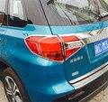 Автомобильный Стайлинг для Suzuki Vitara 2015 2016 2017 2018 ABS Хром ABS покрытие перед + задний фонарь передняя фара рамка отделка