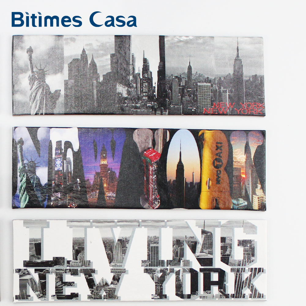 12PCS New Design New York Landscape Fridge Refrigerator Magnets Home Decors Yellow Cab Stature Of Liberty Travel Souvenir in Fridge Magnets from Home Garden