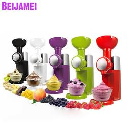 Beijamei Wholesale 220V Automatic Frozen Fruit Dessert Machine Small Fruit Ice Cream Maker Milkshake Making