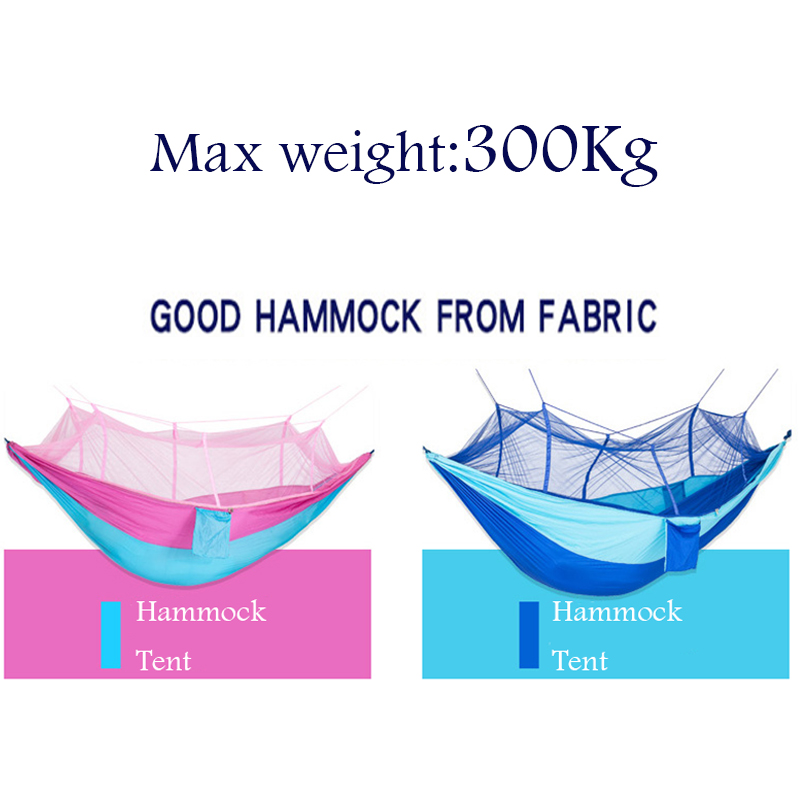 260x145cm Outdoors Parachute Fabric Camping Double Hammock Load Bearing 300Kg Durable Parachute Hammocks Tent for Bushwalking thicken canvas single camping hammock outdoors durable breathable 280x80cm hammocks like parachute for traveling bushwalking