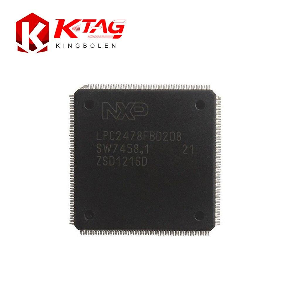 Prix pour Ktag V5.001 V6.070 ECU Outil de Programmation K-TAG Maître CPU Réparation Puce Tuning Outil avec 500 Jetons