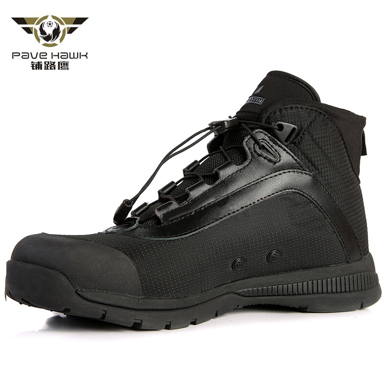 Casual Shoes Men Lace Up Waterproof Breathable Army Boots Men Military Boots Outdoor Sport Sneakers Work