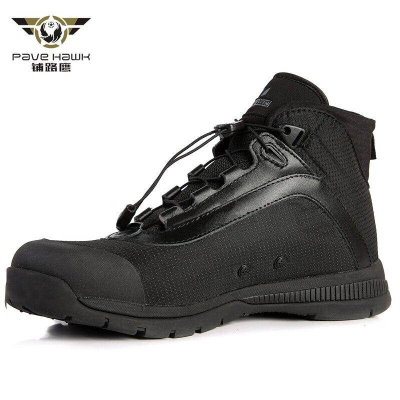Scarpe casual uomo stringate impermeabili stivali militari traspiranti uomini stivali militari scarpe da ginnastica sportive all'aperto lavoro arrampicata scarpe da trekking