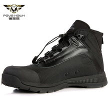 Casual Shoes Men Lace Up Waterproof Breathable Army Boots Men Military Boots Outdoor Sport Sneakers Work Climbing Hiking Shoes