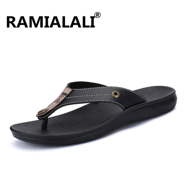 Summer Casual Shoes Men Slippers 2018 Beach Breathable Flip Flops