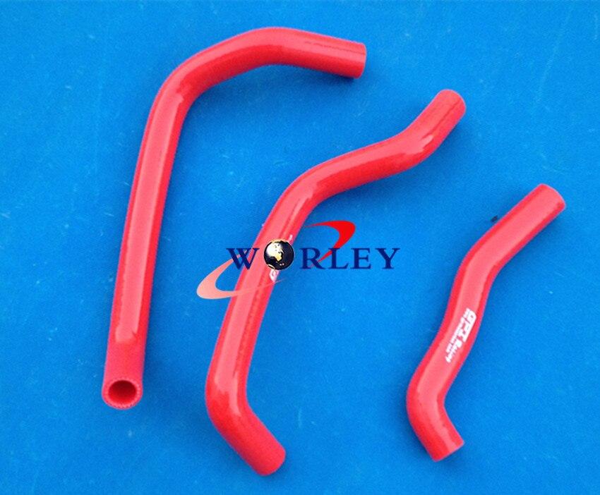Blue silicone hose for HONDA TRX250 TRX250R 1987 1988 1989