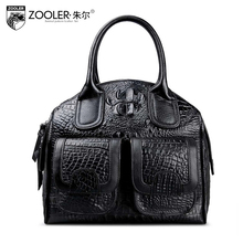 2016 New zooler women genuine leather bag brands fashion Serpentine quality women shoulder messenger Cowhide small bag