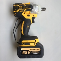 Bürstenlosen Cordless Elektrische Wrench Auswirkungen Steckschlüssel 380N/M 6000mAh Li Batterie Hand Bohrer Installation Power Tools|Elektrische Schraubenschlüssel|Werkzeug -