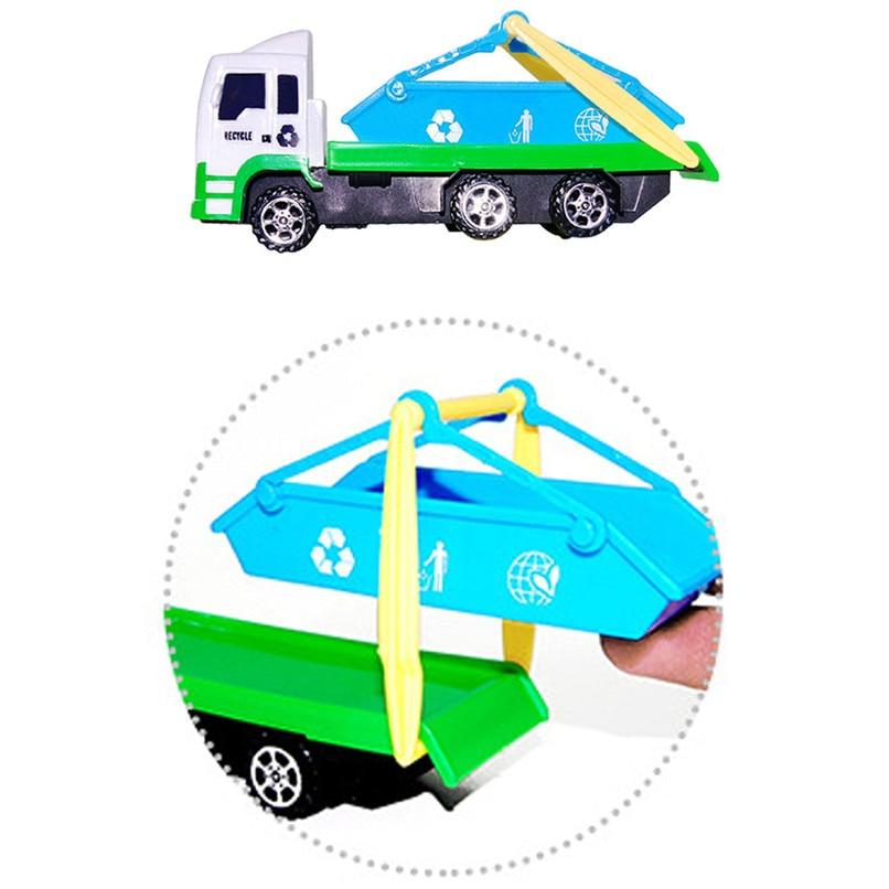 Random Color Baby Toys Funny Mini Sanitation Car Toys Truck Model Toys Early Education Toy Room Decoration Wholesale JY12#F (4)