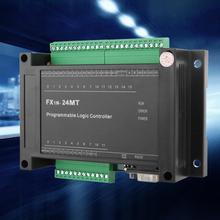 Programmable Logic Controller FX1N-24MT PLC Industrial Control Board RS485 14 Input 10 Transistor Output with shell