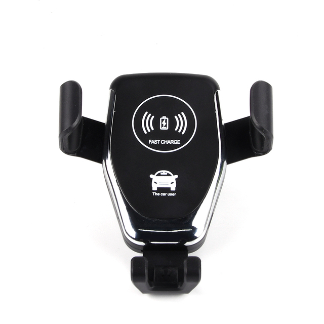 10W QI Wireless Charger Car Mount Holder