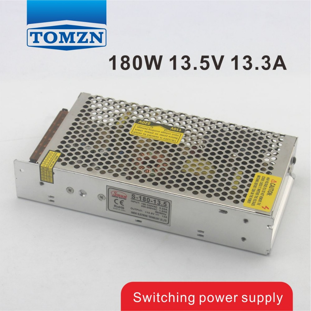 180W 13.5V 13.3A Single Output Switching power supply for LED Strip light AC to DC 1200w 48v adjustable 220v input single output switching power supply for led strip light ac to dc