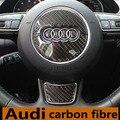 Sline Volante Volante De Fibra De Carbono s line 3D Coche Pegatinas Coche Styling Para Audi A1 A3 A4 A5 A6 A7 A8 Q3 Q5 Q7