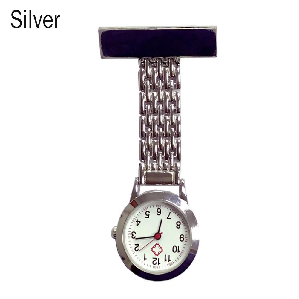Newly Nurse Quartz Watch Brooch Pocket Brooch Clip Medical Nurse Pocket Nursing Watch DO99