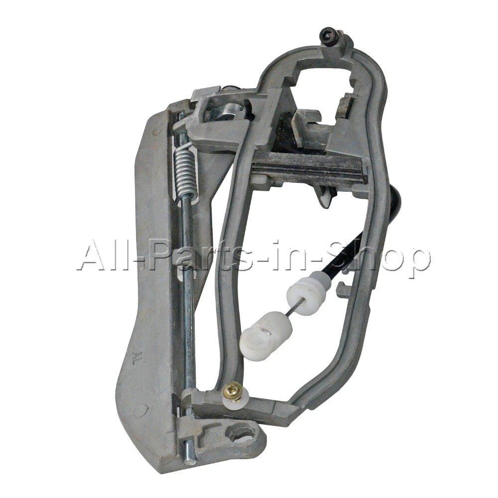 Door Handle Carrier Rear Left Side Outer Fits For 00-07 BMW X5 51228243635 NEW