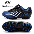 TIEBAO Brand High Quality Light Children AG Soles Footbals Shoes Boys Football Boots Grass Sports Chuteira Girls Kids' Sneakers